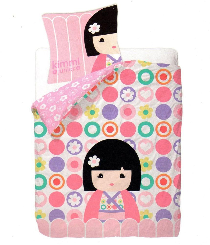 bettw sche kimmi junior pink m dchen 135x200 cm hellrosa kaufen bei. Black Bedroom Furniture Sets. Home Design Ideas