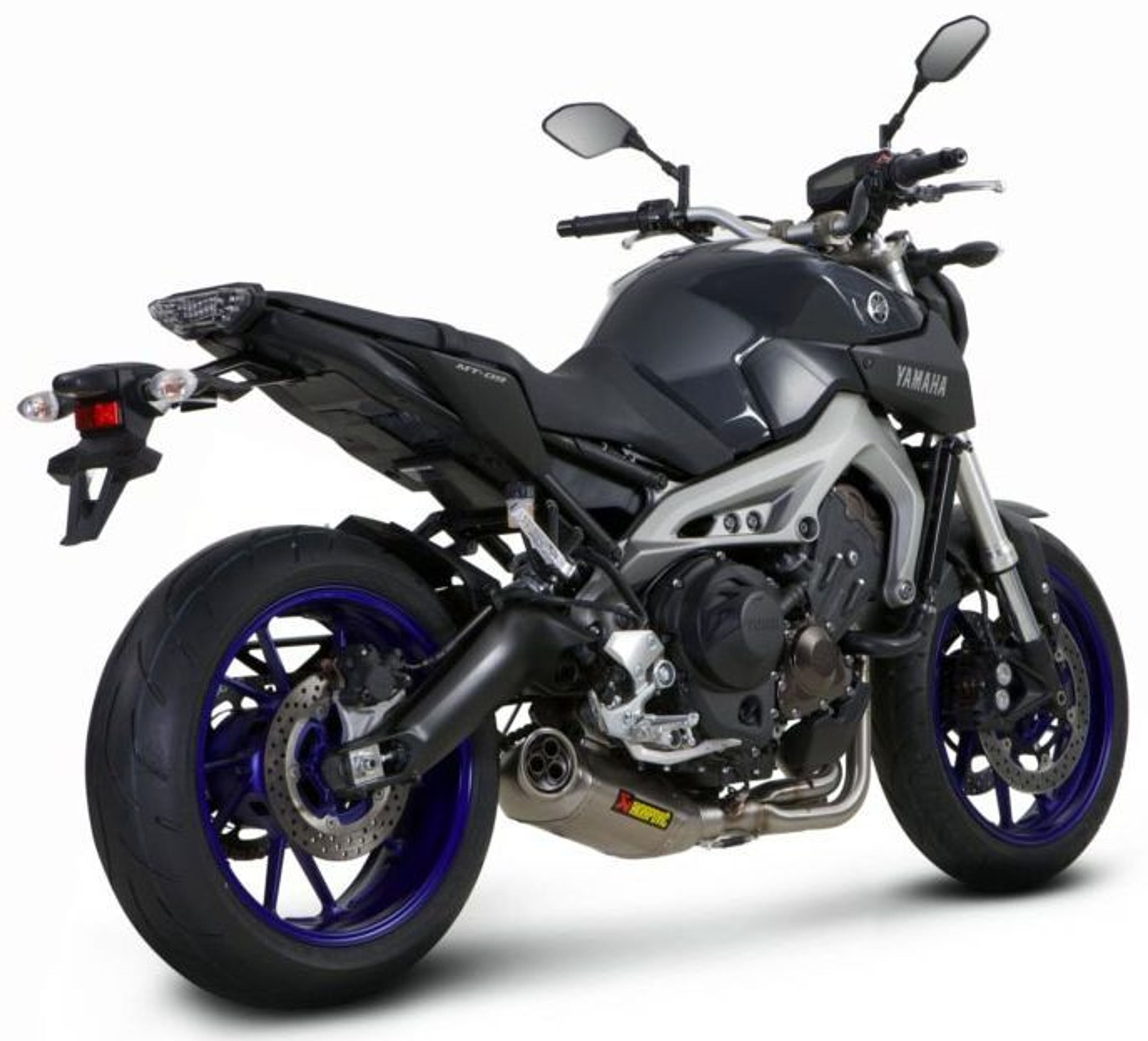 akrapovic sportauspuff auspuff yamaha mt 09 tracer 13 16. Black Bedroom Furniture Sets. Home Design Ideas