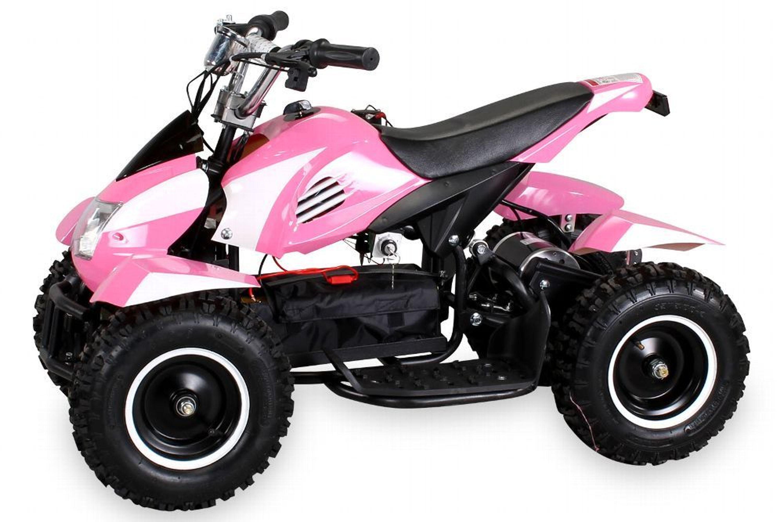 c08a88858a Mini Elektro Kinder Quad ATV Cobra 800 Watt - Kinderquad, Kinderauto -  Farbe Pink kaufen bei Hood.de