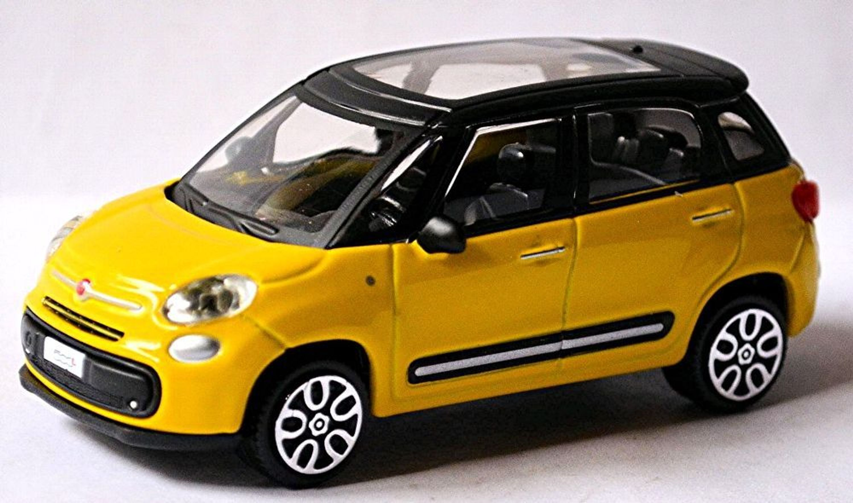 fiat 500 l minivan suv 2012 17 gelb yellow 1 43 ebay. Black Bedroom Furniture Sets. Home Design Ideas