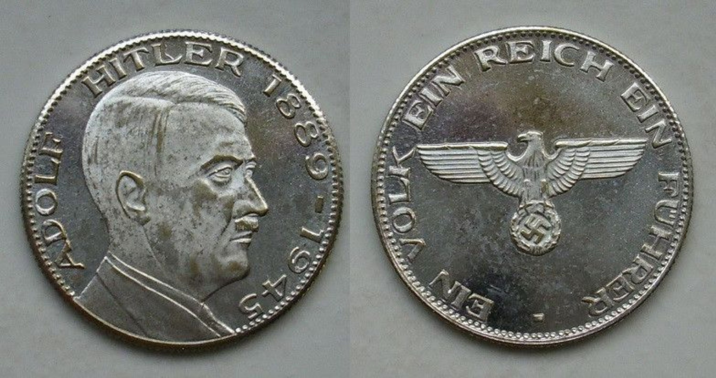 Münze Mit Hitlerkopf Nora Kdesign