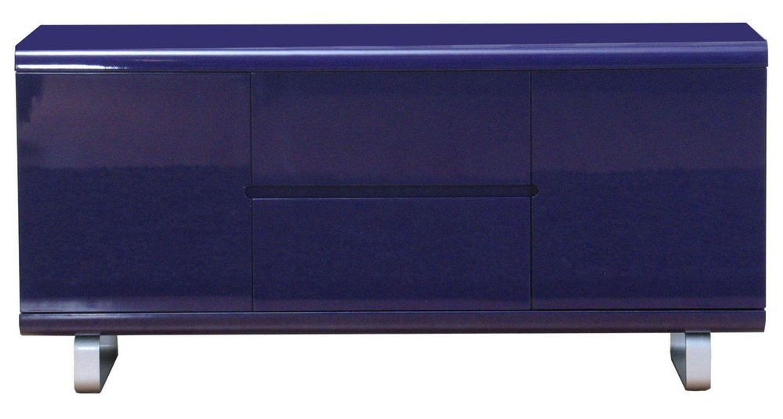 Sideboard spacy kommode anrichte schrank lila hochglanz for Sideboard lila hochglanz