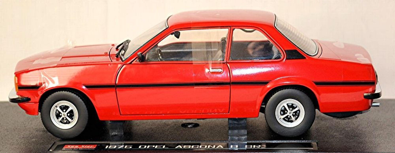 opel ascona b sr limousine 1975 81 rot red kardinalrot 1 18 sun star ebay. Black Bedroom Furniture Sets. Home Design Ideas
