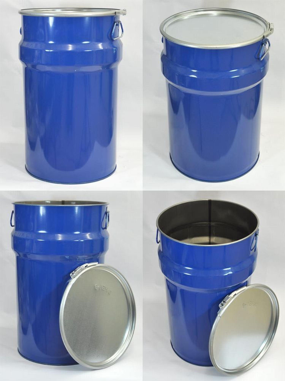 9 deckelf sser 60 l blau blechfass stahlfass lfass. Black Bedroom Furniture Sets. Home Design Ideas