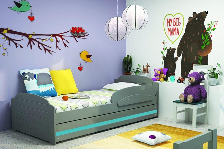 kinderbett mit matratze und lattenrost auto kinderbett. Black Bedroom Furniture Sets. Home Design Ideas