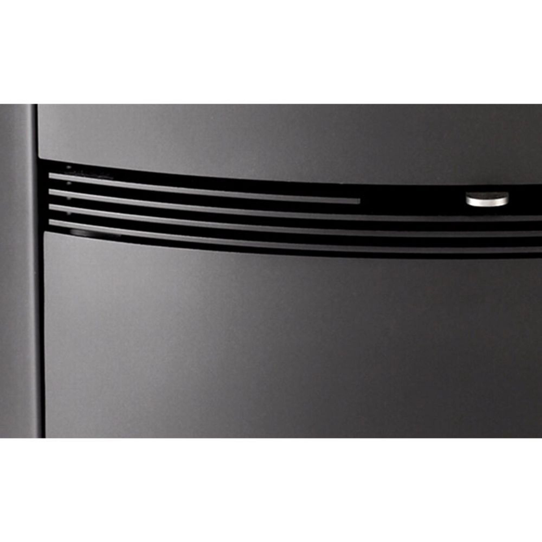termatech tt22h kaminofen mit 7 kw in schwarz gro er. Black Bedroom Furniture Sets. Home Design Ideas