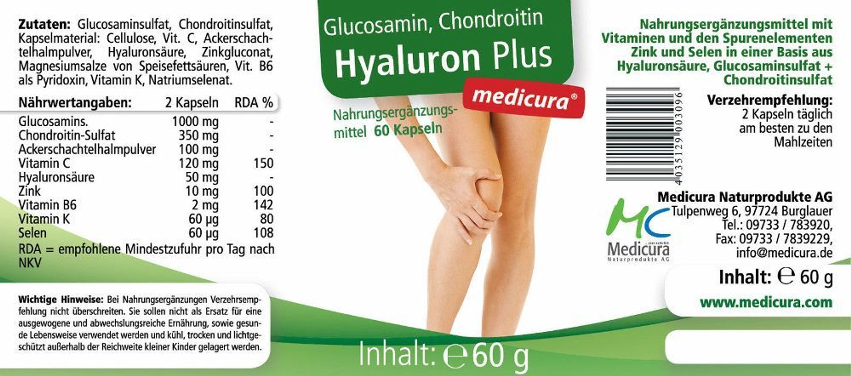 Arthro-5 mit Glucosamin, Chondroitin + MSM