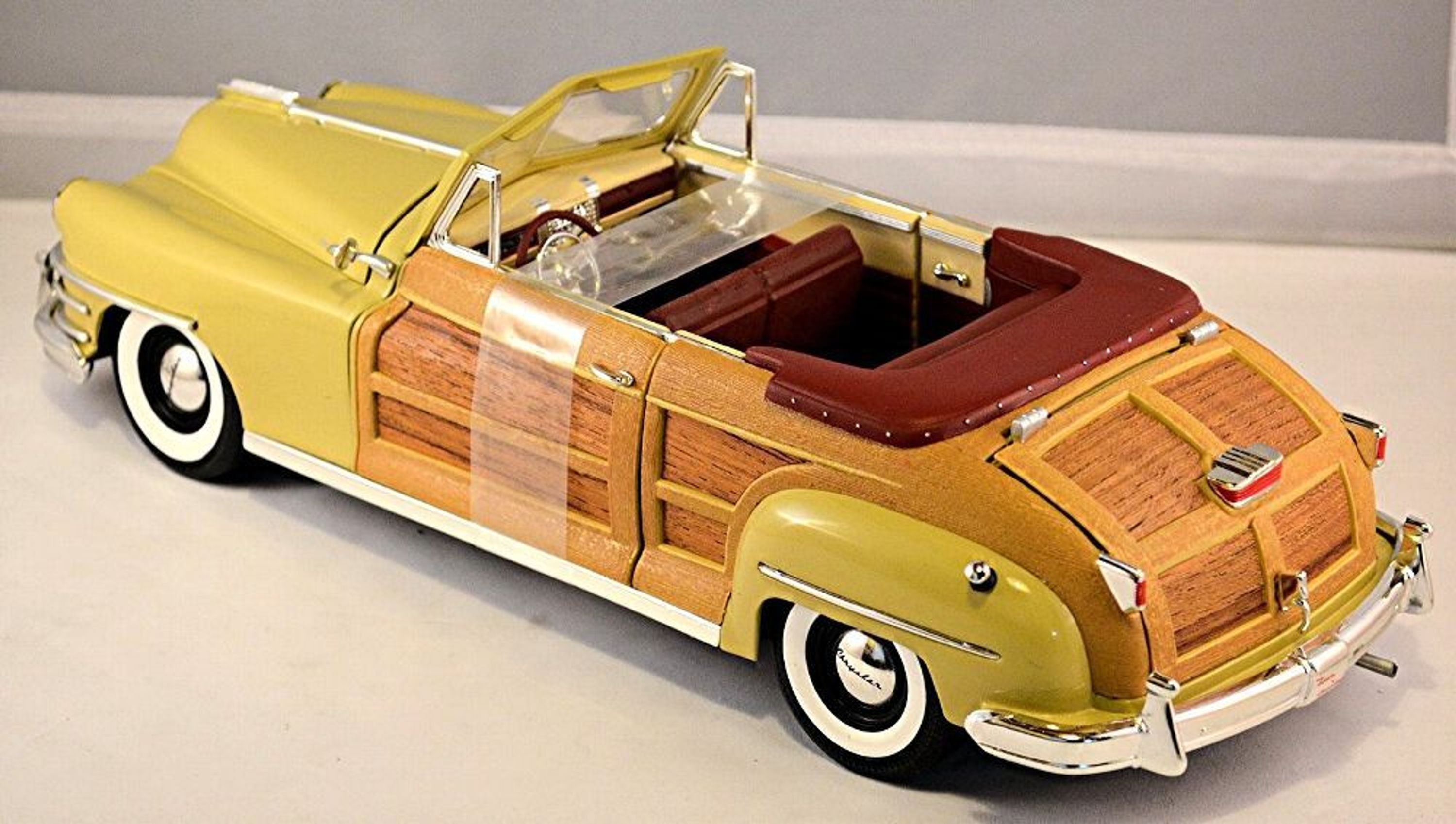 Chrysler Windsor Town Country Cabriolet 1948 Creme 1 18