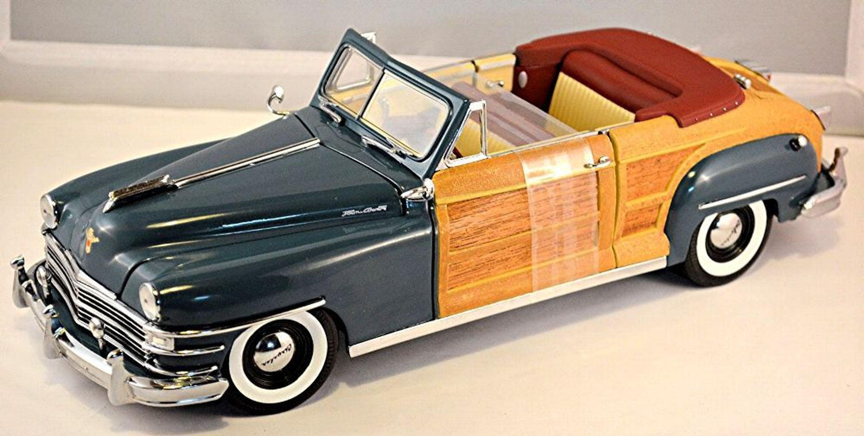 Chrysler Windsor Town Country Cabriolet 1948 Blau Blue 1