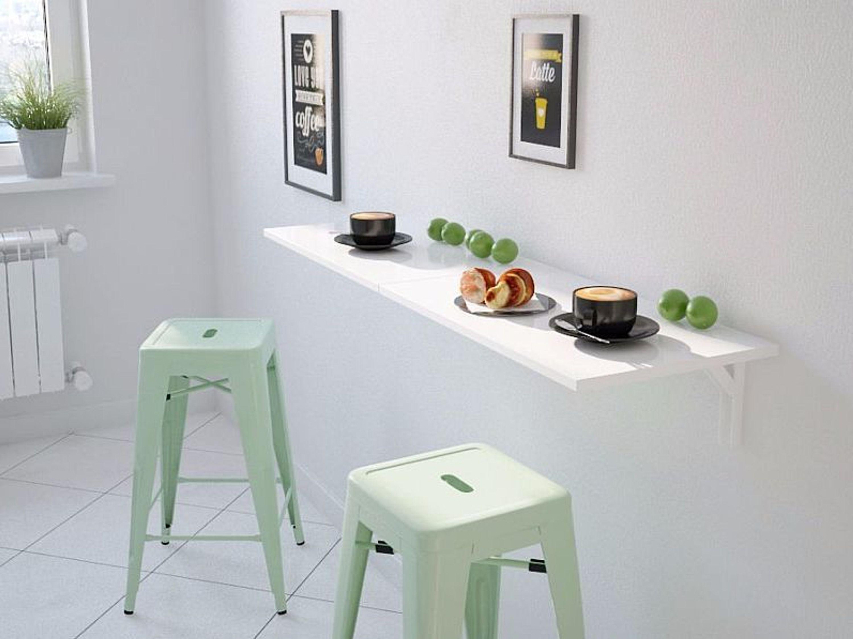 wandklapptisch nico klapptisch k chentisch schreibtisch wei hochglanz 60 x 35cm kaufen bei. Black Bedroom Furniture Sets. Home Design Ideas