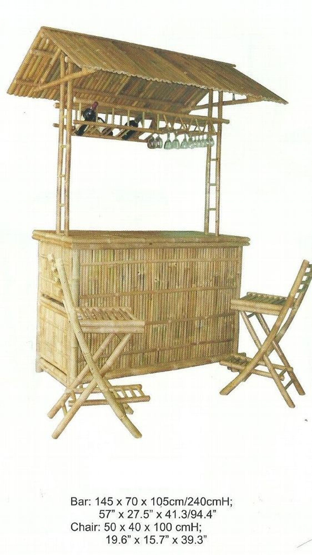 Bambusbar Bambustheke Bar Gartenbar Partykeller Kaufen Bei Hoodde