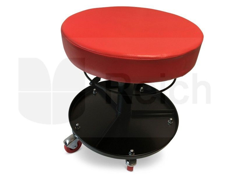 werkstattsitz werkstatthocker montagehocker stufenlos h henverstellbar mit rollen kaufen bei. Black Bedroom Furniture Sets. Home Design Ideas