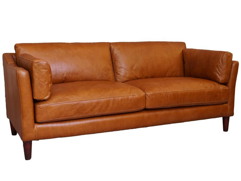 Manitoba Sofa 3 Sitzer Columbia Brown Vintage Leder Mobel Ledersofa