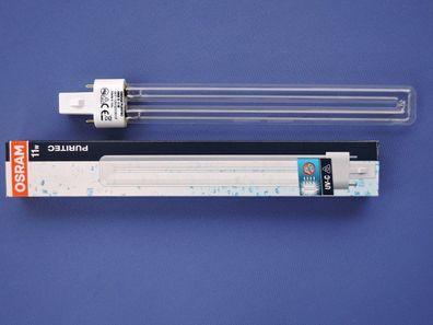 Osram UVC Lampe G23-11W UV-C Teich Klärer Keime Brenner PURITEC HNS S