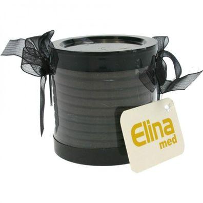 3 Stück elastische Stoff Haargummis Haarbinder Zopfgummi Haarband schwarz grau