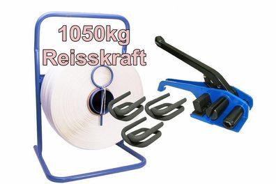 2000 Stk Textilband Drahtklammern Verschlussklammern phosphatiert 19mm