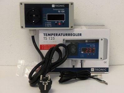 125 /° C 55 bis H-Tronic TS 125 Plus Temperaturschalter Temperaturregler Thermostat