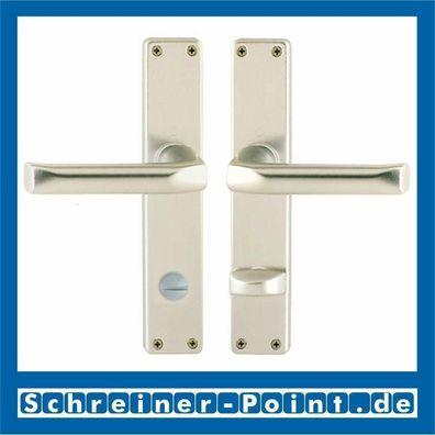Hoppe Türdrücker London WC Aluminium neusilber Türgriff Türklinke 113//202SP F2