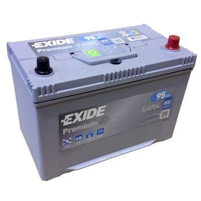 A 720 EXIDE PREMIUM Carbon Boost EA 722 12V 72AH Neuestes Model 2014//15 EN