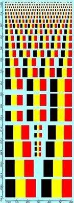 Flaggen Schweden Flags Sweden Drapeaux Suède 1:24 Decal Abziehbilder