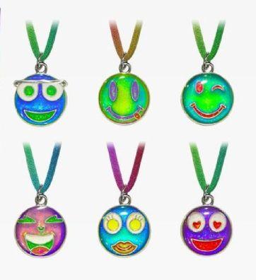 1 Stimmungskette Emoji Kette Anhänger Modeschmuck Ketten Geschenke Schmuck Lächeln