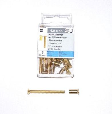 Frässchaft Torx Spanplattenschrauben D 3,0 x 20-40mm mit Bohrspitze gelb