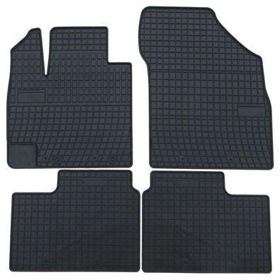 Velours schwarz Fußmatten passend für VW T3 Bus 2tlg