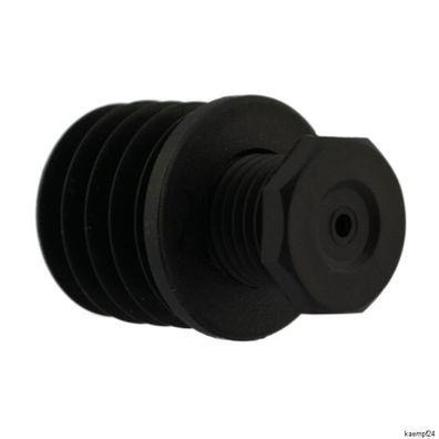 Fussstopfen Ø 80mm mit Stellfuß Rohrstopfen Gewindestopfen Fusskappen Tisch