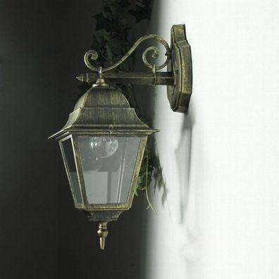 heller 12W LED in antikgold aus Alu Deckenlampe Leuchte Deck Deckenleuchte inkl