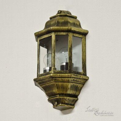 LED Wegleuchte für Außen nur 6W wie 40W antik Weglampe Sockelleuchte Sockellam