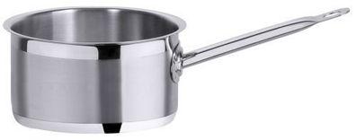 Serie 2000 Kasserolle Topf 1,5-7,0 Liter 18//10 flache Form Stielkasserolle
