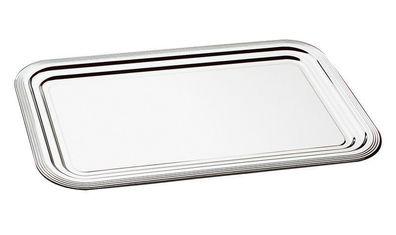 Edelstahl Buffettablett Tablett Buffetplatte Größen wählbar Schöner Essen