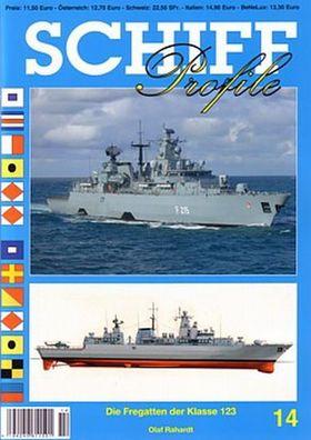 Schiff Profile 6 U-Jagdkorvetten der Parchim-Klasse NEU Schiff-Modellbau//Fotos