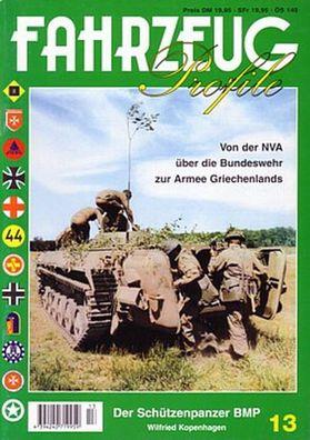 Fahrzeug Profile 13 Der Schützenpanzer BMP Panzer Modellbau NVA Bilder Fotos