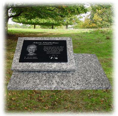 Sternenkind GRANIT Grabstein Grabplatte Gedenkstein 25x20 cm Wunsch Gravur gg13s