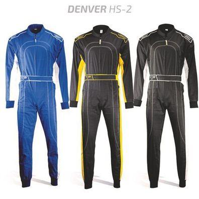 blau//weiß Kartanzug Kartoverall Größe 52 keep-racing® Cruiser Overall M