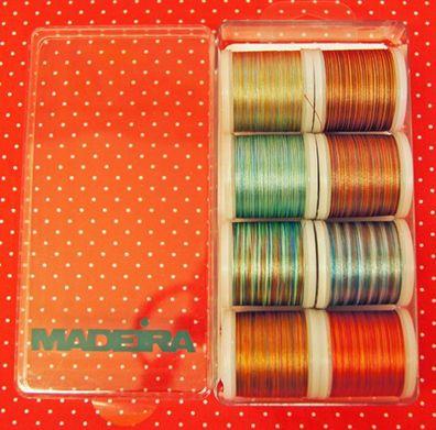 8,19€//Km Madeira Stickgarnt 18x á 200m 40er Rayon Maschinenstickgarn #8040
