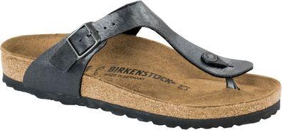 Birkenstock Zehensteg Sandale Gizeh BS Navy Gr. 35 46 847661, Größe + Weite:37 normal