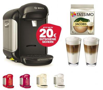 20 EUR Gutscheine* mit TDISC Kapselhalter Kaffee Maschine Bosch TASSIMO Caddy