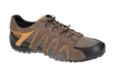 Geox Respira Sport Snake A Herren Sneakers Halbschuhe U8407A Schnellschnürrung