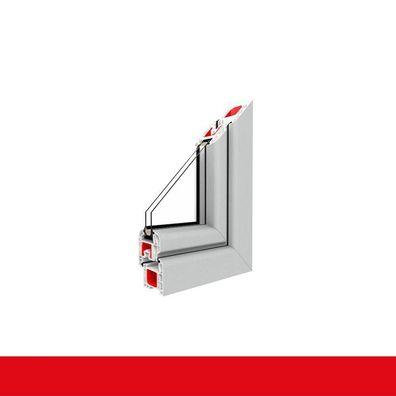 Badezimmerfenster Dreh-Kipp mit Lüftung und Fensterfalzlüfter mit Milchglasglas