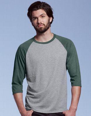 Anvil T-SHIRT Tee Shirt Tri-Blend TAILLIERT BEDRUCKBAR XS S M XL XL XXL NEU