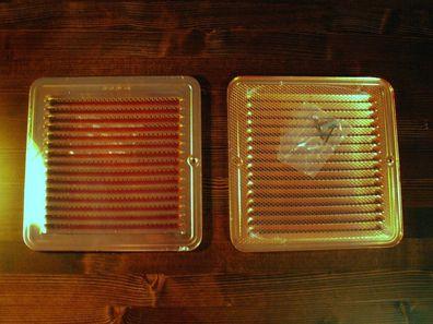 Lüftungsgitter Lüfter Kupfer Cu rund 100 mm