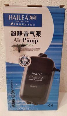 Hailea ACO 12 Volt 006D plus 5 m Schlauch Kompressor Luftpumpe Köderfisch PKW