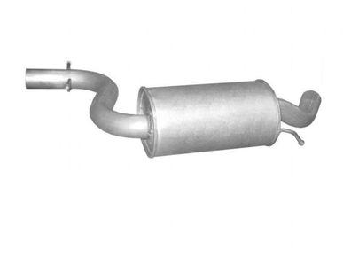 Endschalld/ämpfer Auspuff Inkl Montagesatz 1220-19610 D/ämpfer Abgasanlage