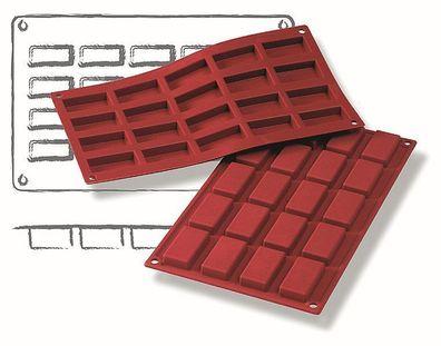 Volumen 3,30 Liter, BxT Premium-Backform Motiv Fußballfeld : 350 x 245 mm