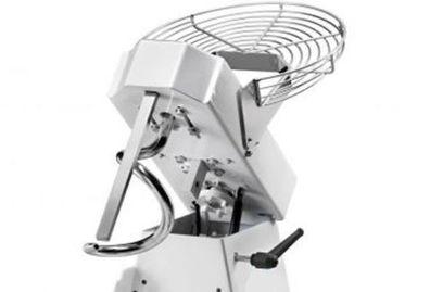 Teigknetmaschine Teigmaschine mit Rädersatz und Timer Aufklappbar 5kg 7L 230V