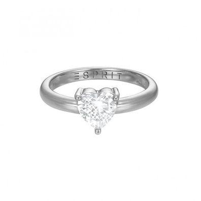 Esprit Damen Ring Silber Rosé Zirkonia Glam Square ESRG92811C1