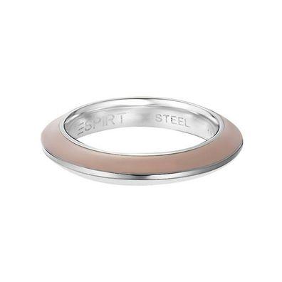 Esprit Damen Ring Edelstahl Marino Black ESRG11574D