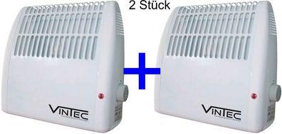 Vintec Elektro Konvektor Heizgerät Heizer Heizung 3 Stufen Ofen VT 2000 ECO